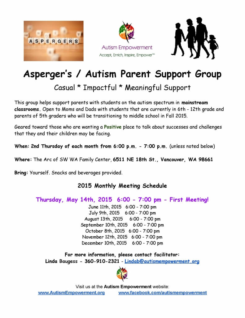 First Support group for autism small