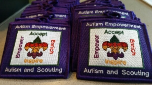 Autism and Scouting purple patches