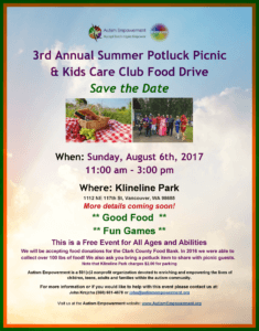 AE 3rd Annual Summer Picnic @ Salmon Creek Park & Klineline Pond | Vancouver | Washington | United States