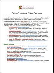 Bully Prevention PDF
