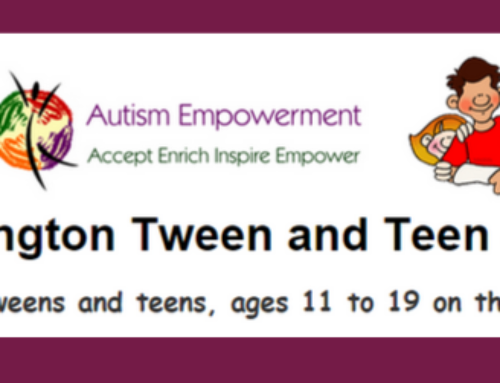 Tween and Teen Autism Social Club has a New Home!