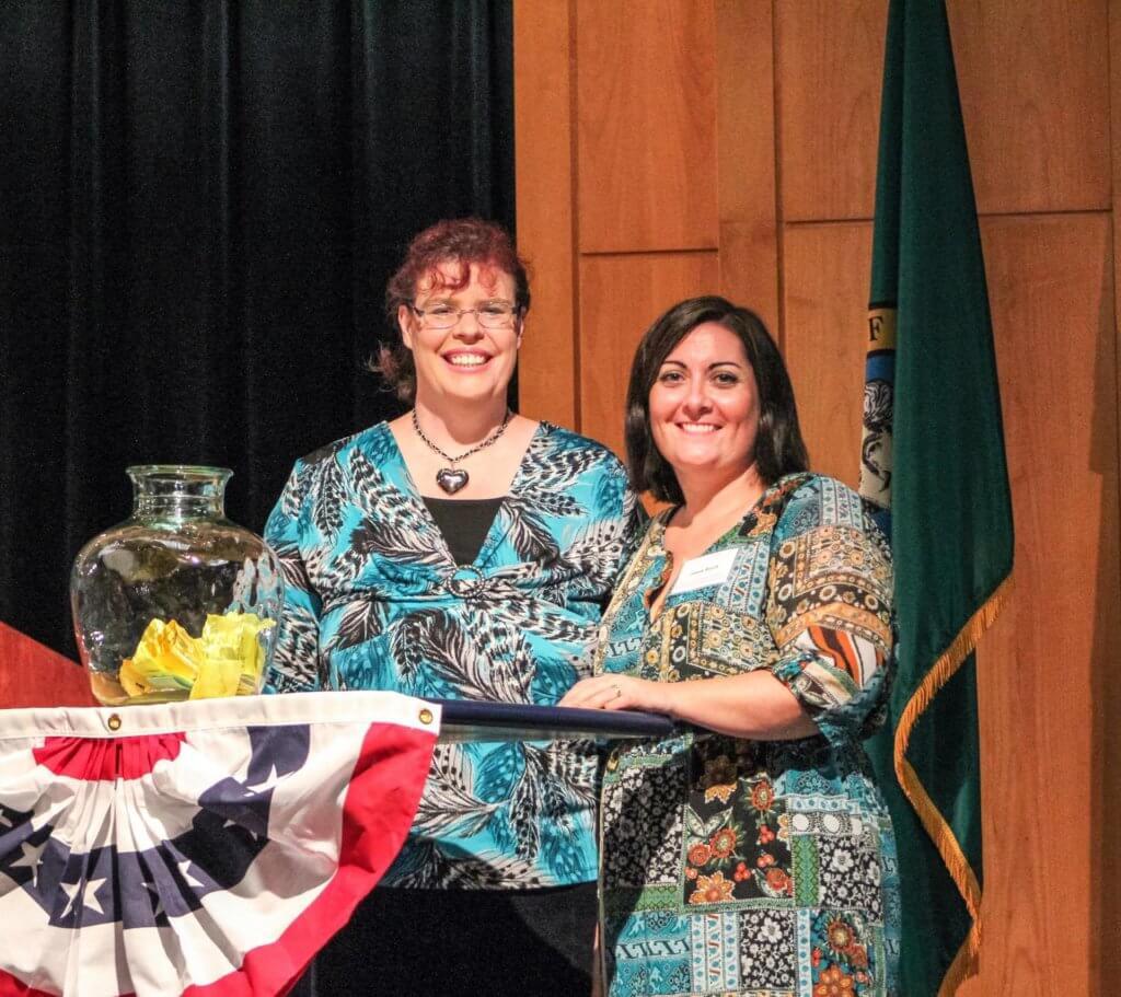 Karen Krejcha, Executive Director of Autism Empowerment and Jamie Burch, Co-Coordinator, Clark County Parent Coalition