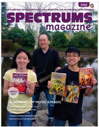 Spectrums Magazine Spring 2017 Issue
