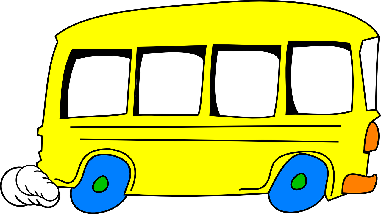 transportation and special education students rh autismempowerment org Church Bus Clip Art Adult Cartoon Clip Art