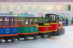 colorful train - courtesy punit-sharma pixabay